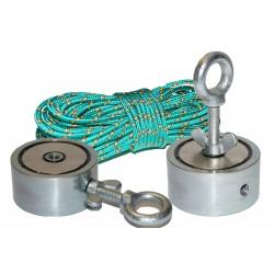 Magneetti DUAL 120kg/200kg/400kg/600kg